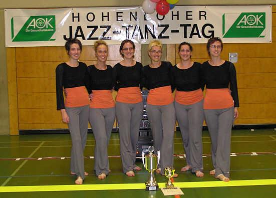 jazztanzgruppe